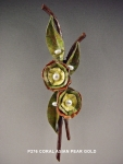 P276 CORAL ASIAN PEAR GOLD
